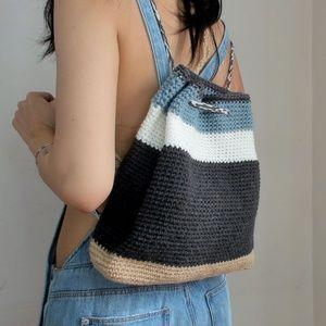 Handbags - Color block backpack